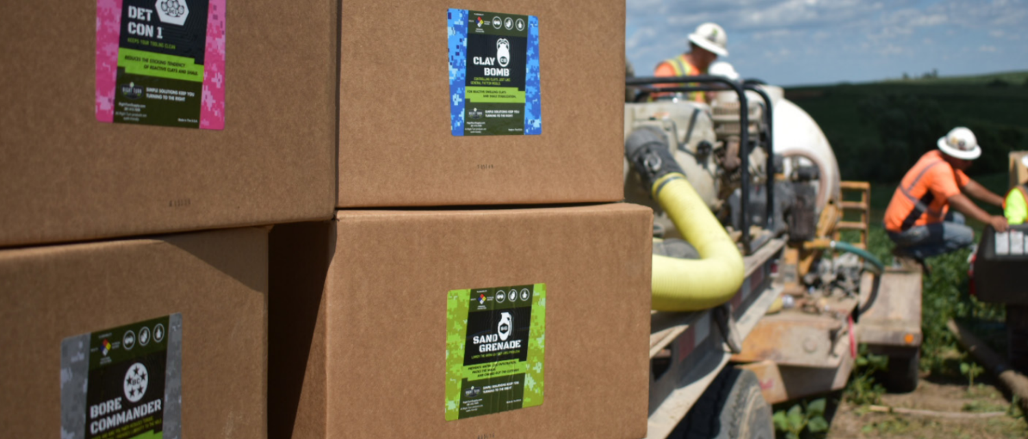 Right Turn Supply Boxed Products at Jobsite