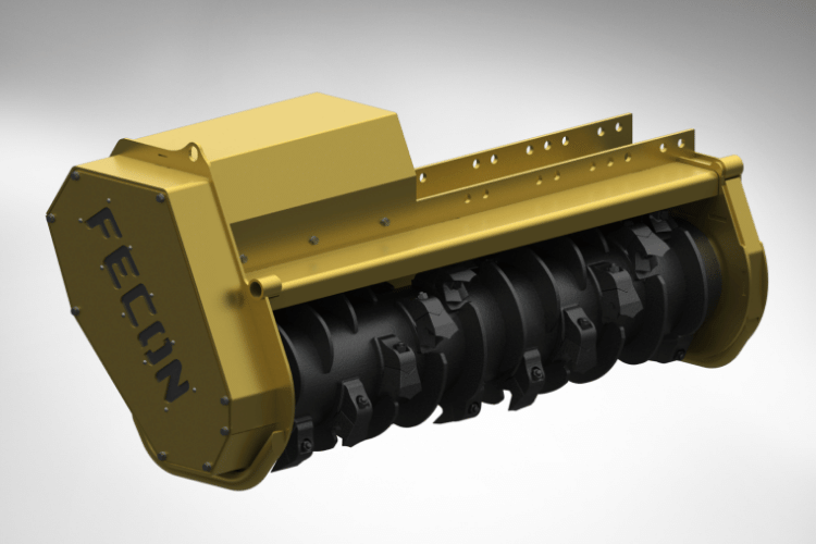 Bull Hog VMX50 Mulcher Head for Excavators